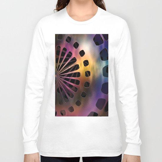 Metal Space Sphere Long Sleeve T-shirt