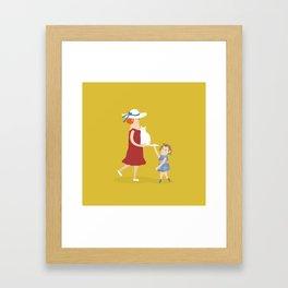 Hi, little kitty Framed Art Print