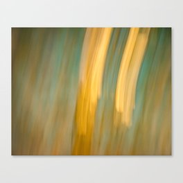 Ancient Gold and Turquoise Texture Canvas Print