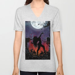 Witching Hour Unisex V-Neck