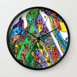 BeYond CoLor Oversized Wall Clock