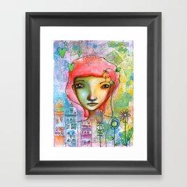 Just in Love...♥ Framed Art Print