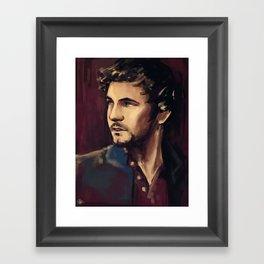 George Blagden Framed Art Print