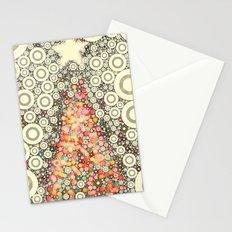 Christmas Joy -- Abstract Christmas Tree Greeting Stationery Cards