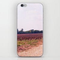 tennessee iPhone & iPod Skins featuring TENNESSEE FIELD by Allyson Johnson