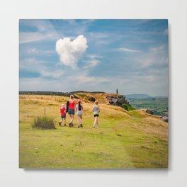 Love outdoors! Metal Print