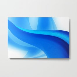 Blue is Beautiful Metal Print