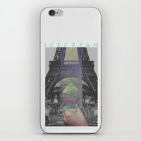 icecream iPhone & iPod Skins featuring Icecream by john muyargas