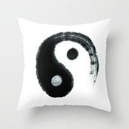 Ying & Yang Throw Pillow