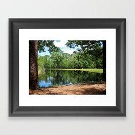 A Swimming Hole Framed Art Print