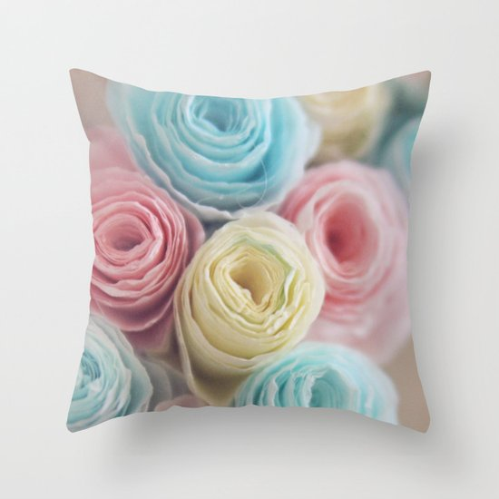 Spring into Life Throw Pillow