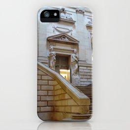 Grand théâtre de Bordeaux 1- grand staircase iPhone Case
