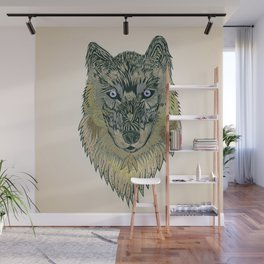 The wolf of your dreams Wall Mural