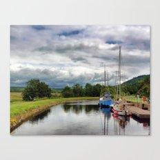 Crinan Canal Canvas Print