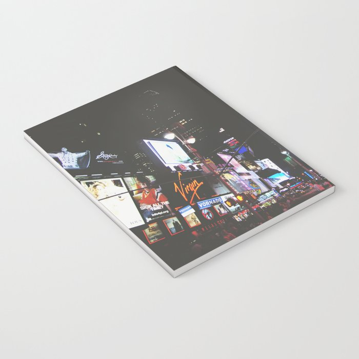 Evening Glow - Times Square Notebook