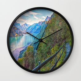 Panorama Trail Wall Clock