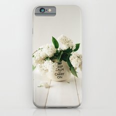 Still life with white lilacs Slim Case iPhone 6s