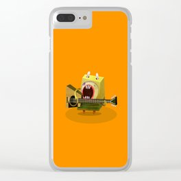 Guitar player Clear iPhone Case
