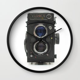 Vintage Camera (Yashica  124 G) Wall Clock