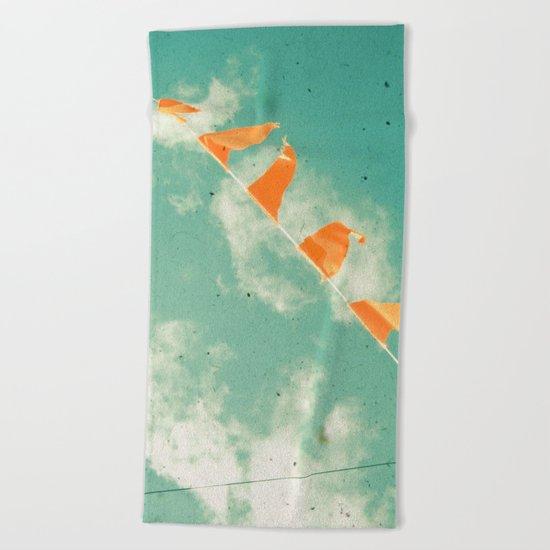 Bunting Beach Towel