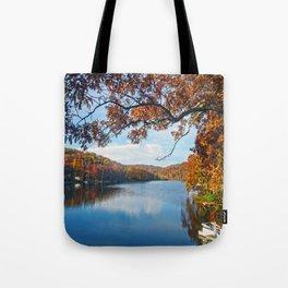 Autumn at Lake Killarney Tote Bag