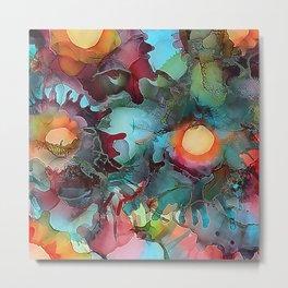 Color Splash Metal Print