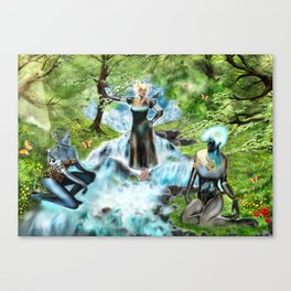 Spirits of the Water Canvas Print