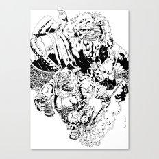 Balthazar Dwarven Party Machine Canvas Print