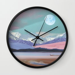 Kimono Dreaming Wall Clock