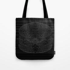 Cheeseburger Optical Illusion Tote Bag