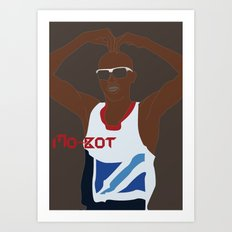 Mo-Bot Art Print