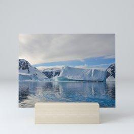 Icebergs of the sea Mini Art Print