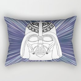 Darth Vader Mandala Rectangular Pillow