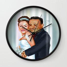 Pau & Javis Wall Clock