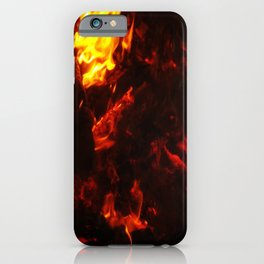 Red Hot FIre iPhone Case