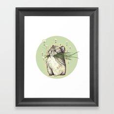 Hamster Love Framed Art Print