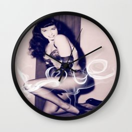 There is no smoke without FIRE Wall Clock