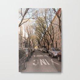 Greenpoint Trees Metal Print