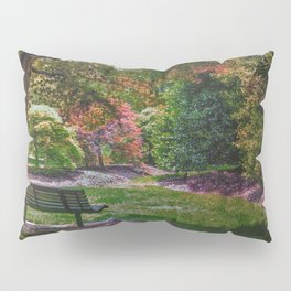 The Park Bench Pillow Sham