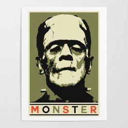 Monster (Boris Karloff) Poster