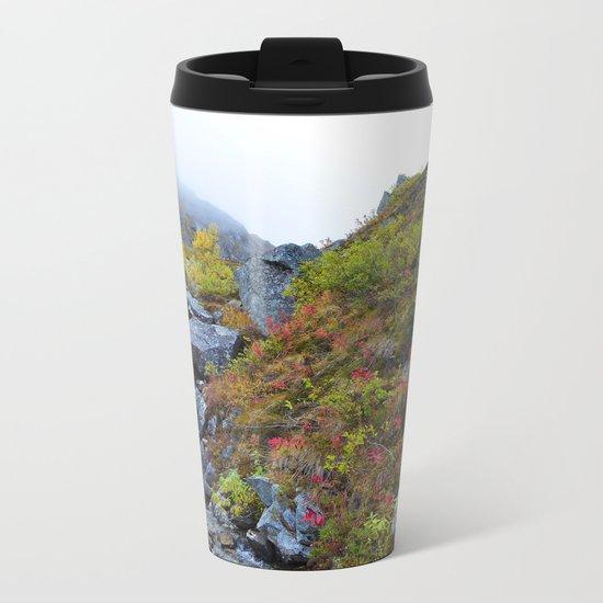 Independence Mine Waterfall Metal Travel Mug
