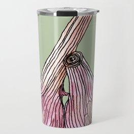 Painting of Garlics Travel Mug