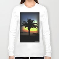 palm Long Sleeve T-shirts featuring Palm by Chris' Landscape Images & Designs
