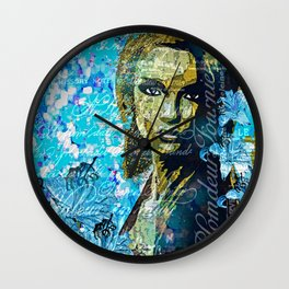 I Never Knew You Loved Me Wall Clock