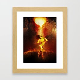 Forged Not Fabricated Framed Art Print