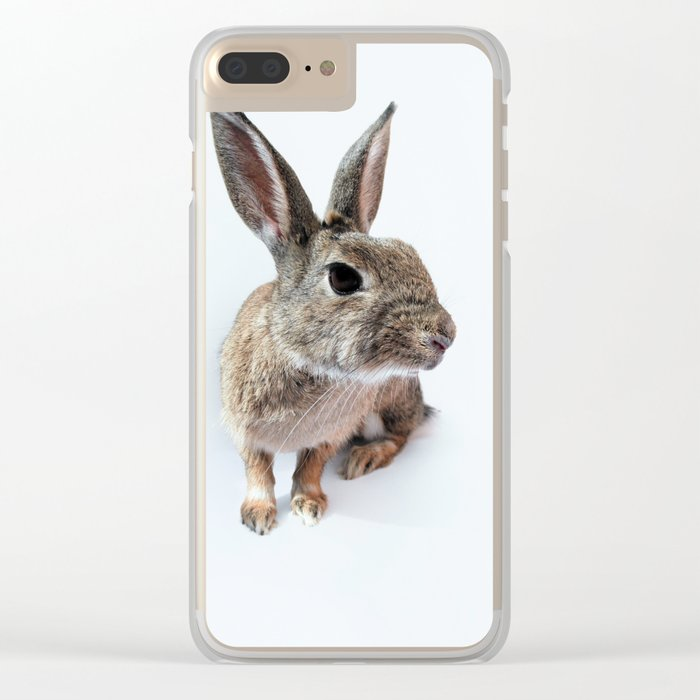 rabbit Clear iPhone Case