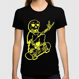 skate skelleton T-shirt