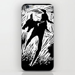 Animals and humans iPhone Skin