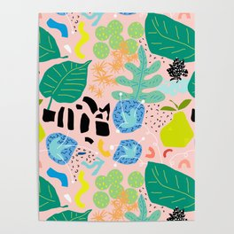 Abstract Orchard Poster