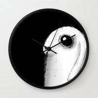bunny Wall Clocks featuring Bunny by Siriusreno